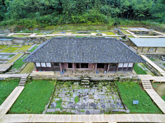 贵州海龙屯新王宫遗址