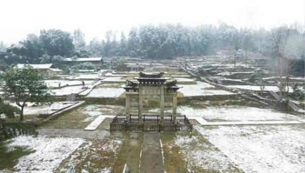唐崖土司城:绽放冬日之美